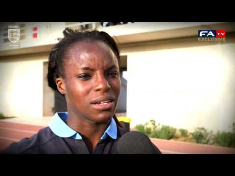 Post match interview : England 3-1 New Zealand (Cyprus Cup 2013)