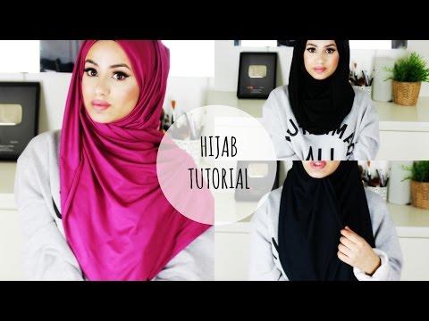 Hijab tutorial for wedding