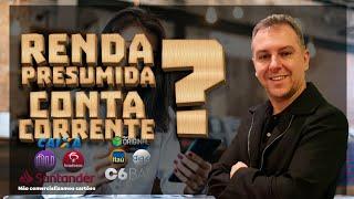 Renda Presumida para abertura de conta corrente? Cartões de Crédito Alta Renda - Leandro Vieira