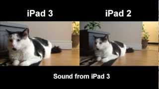 iPad 2 vs iPad 3 - Camera Comparison [HD]