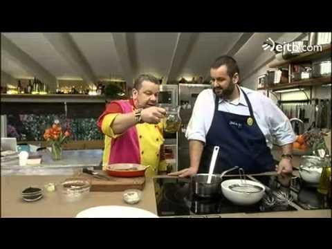 Alberto Chicote y David de Jorge cocinan carabineros