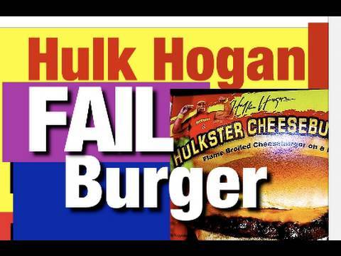 Wrestling Hulk Hogan Funny Video Hulkster CheeseBurgers Review Mike Mozart WWE Wrestling
