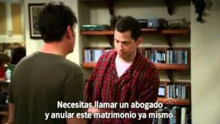 Two and a half men: ¡Stop! (Sub en español)