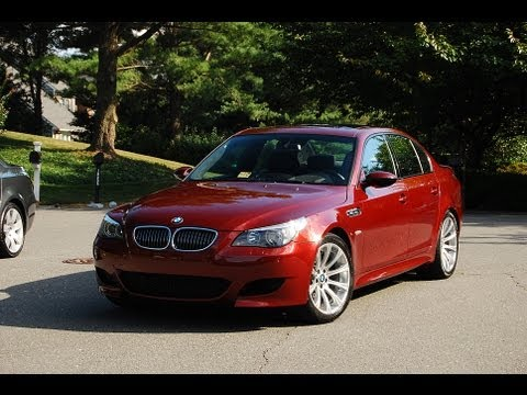 2006 BMW 5-Series M5 E60 500-hp V10 SMG Transmission