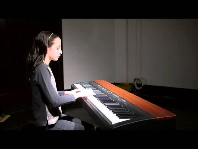 Ryan (10) plays Winter Waltz by Melody Bober on piano - piano recital