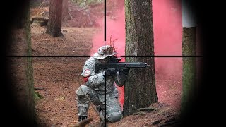 Experience Airsoft Sniping by Watching This