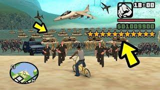 Что будет, если получить 11 звёзд в GTA San Andreas?😱