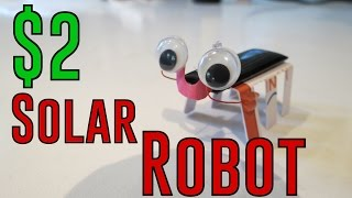 How to Make a Solar Powered Robot
