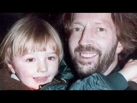 Photo of Eric Clapton & his  Son  Conor Clapton