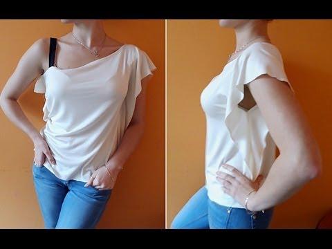 Jak Uszyć Bluzkę Na Jedno Ramię?