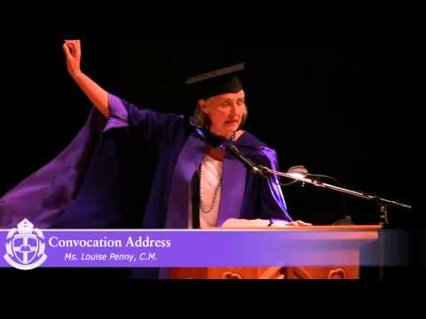 Louise Penny Convocation Address, Bishop's University 2014