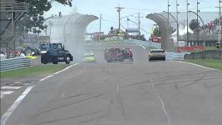 2011 Watkins Glen - Paul Menard Crash