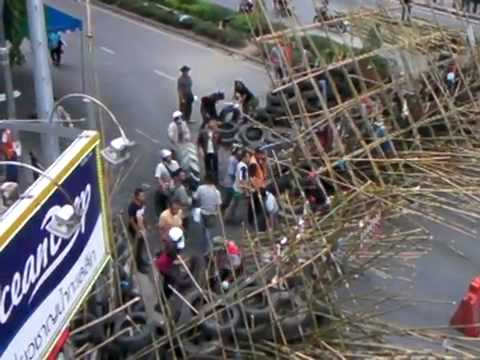 Thailand – Red shirt protests –  28th April 2010