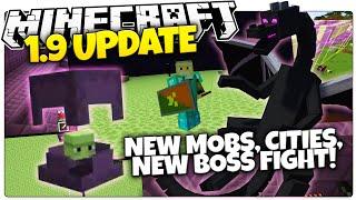 Minecraft 1.9 News | NEW MOBS, NEW CITIES, NEW BOSS FIGHT! | Minecon 2015 HINTS (Minecraft 1.9)