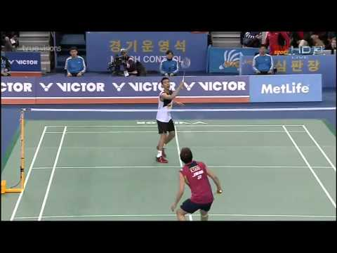 2014 Victor Korea Open Lee Chong Wei VS Kenichi Tago - MS - [Semi Finals]
