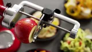 How to Use Your KitchenAid Spiralizer Attachment