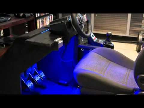 Homemade racing  cockpit g27