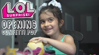 Opening LOL Surprise Confetti Pop