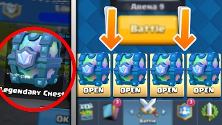 4 Ways to Get a LEGENDARY CHEST in Clash Royale!