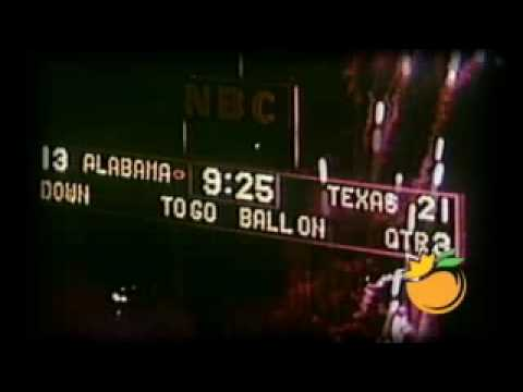 1965 Orange Bowl National Championship Video