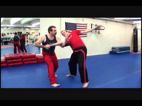 Doce Pares eskrima - basic knife defense against forehand attack.wmv Image 1