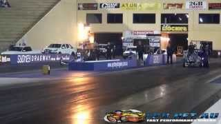 TOP OUTLAW CHALLENGE FUNNY CARS vs DRAGSTERS vs ALTERED SYDNEY DRAGWAY 21.6.2014