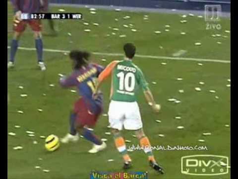 Top ten dribblings Ronaldinho gaucho