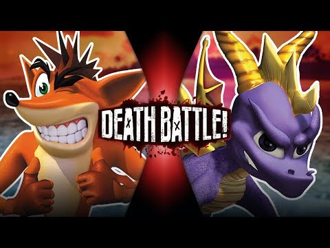 Crash VS Spyro | DEATH BATTLE!