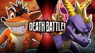 Crash VS Spyro | DEATH BATTLE!