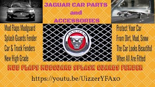 Jackson's Vid Car Jaguar Car Mud Flaps Mudguard Splash Guards Fender for Jaguar 2012-2017 13 14 15