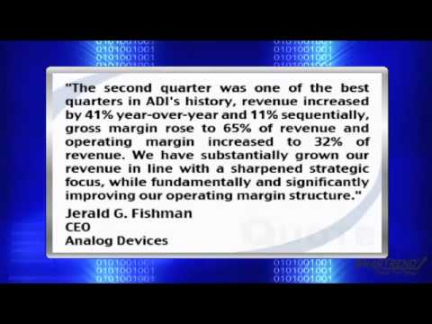 Earnings Report: Analog Devices Inc. Reports Q2 Revenue of $668M