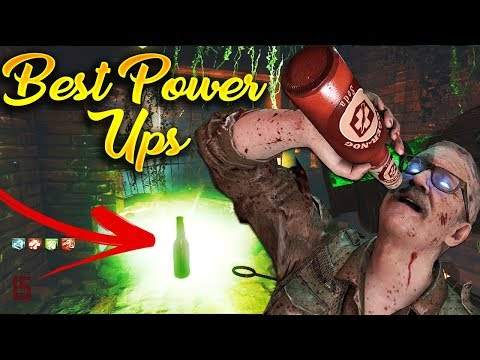 Top 5 Power-Up Drops in Call of Duty Zombies History! (WaW, BO1-BO3, AW, IW and WWII Zombies)