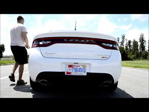 2013 Dodge Dart Rallye 1 4L Turbo -- Intake and Exhaust Sounds