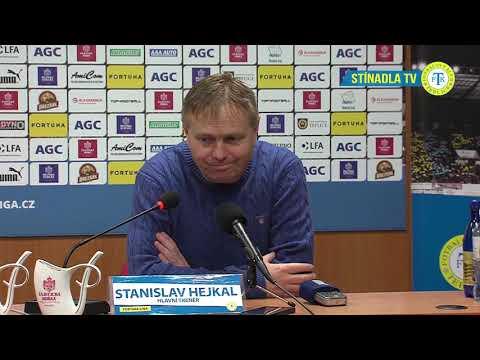 Tisková konference domácího trenéra po zápase Teplice - Liberec (30.11.2018)