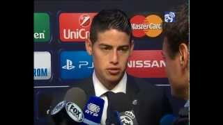 Real Madrid 2-0 Sevilla: James