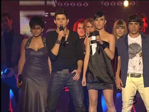 Música - OT Operación Triunfo 2009 Gala 12 Semifinal 19/7/09 HQ