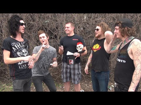 Asking Alexandria Interview #4 in Omaha, NE - Backstage Entertainment