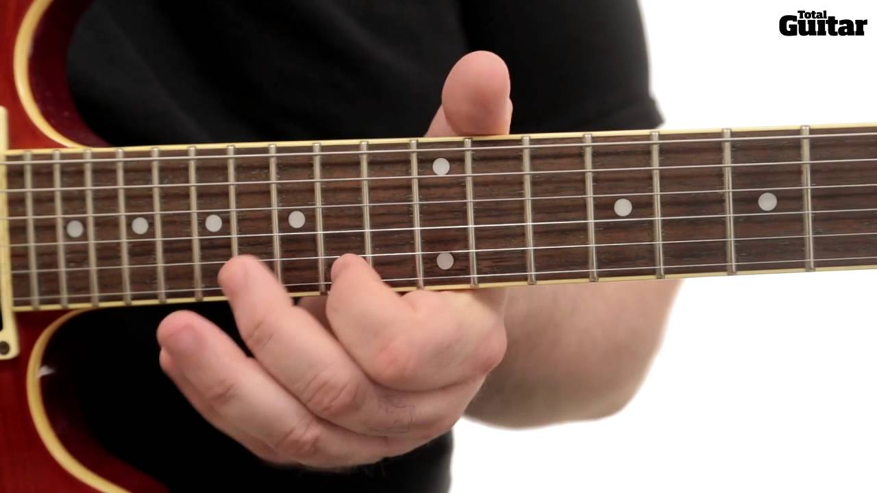 Guitar Lesson: Learn how to play Avenged Sevenfold - Hail ...