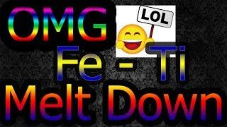 """INFJ"" FE - Ti functions  AKA melt down"