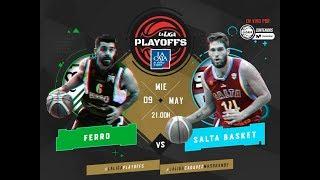 Liga Nacional: Ferro vs Salta Basket   LaLigaEnTyCSports