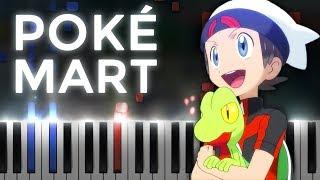 PokéMart Theme! Ruby/Sapphire/Emerald | LyricWulf Piano Tutorial on Synthesia
