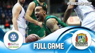 LIVE Belfius MonsHainaut v Balkan BC FIBA Europe Cup 2019