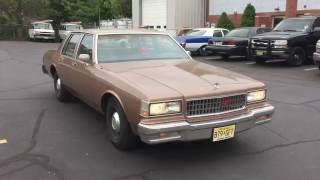 1989 Chevrolet Caprice 9C1 Police Package - EX New York State Police