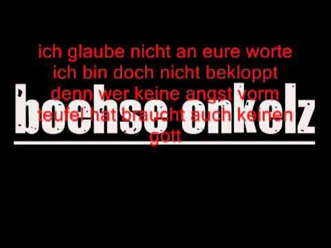 Boehse Onkelz - Kirche lyrics
