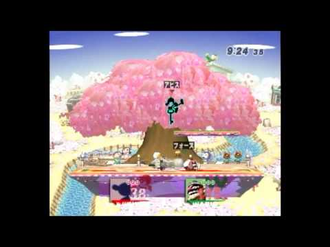 スマブラX Great(アビス)VS ぬえ(フォース)