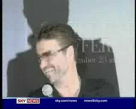 George Michael Smokes a Joint  During TV  Interview