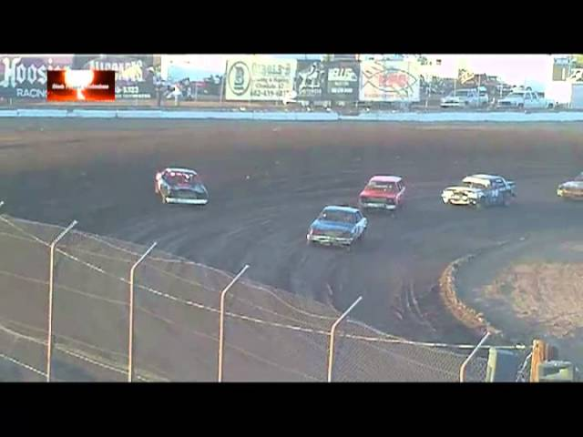 Racing Highlight Reel (Track Sounds) From Canyon Speedway Park June 15th 2013