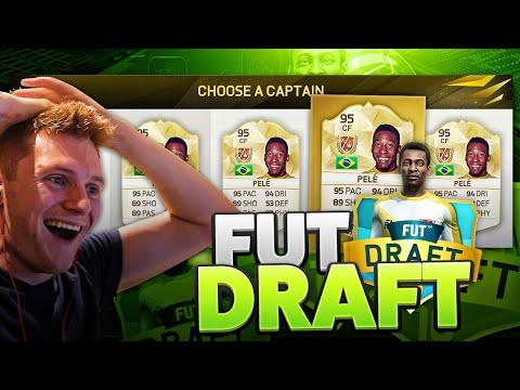OMFG I GOT PELE IN FUT DRAFT!!! - FIFA 16 ULTIMATE TEAM