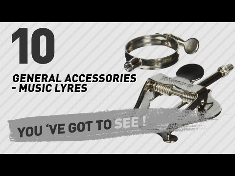 General Accessories - Music Lyres, Top 10 Collection // New & Popular 2017