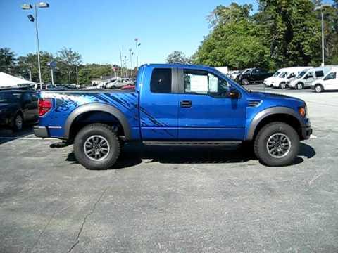 2010 Ford Raptor Blue Billy Howell Ford Cumming Ga 770 887